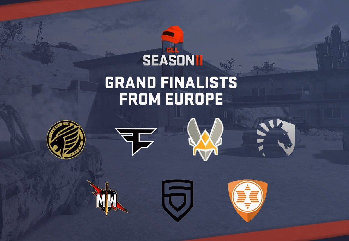 GLL PUBG Season 2 European Finalist: Pittsburgh Knights Win Big